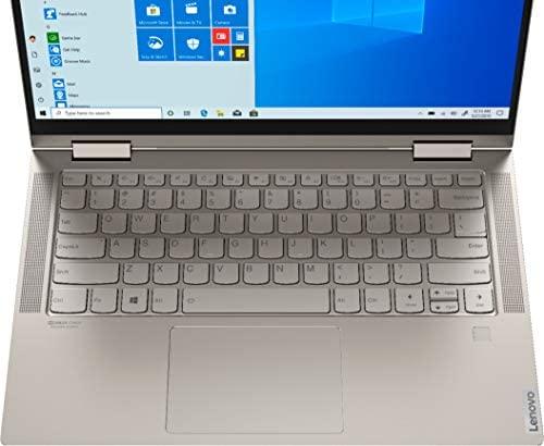 "2021 Newest Lenovo Yoga C740 2-in-1 Laptop 14"" FHD IPS Touchscreen Intel 4-Core i5-10210U 8GB DDR4 256GB PCIe SSD Backlit Keyboard Fingerprint USB Type-C Mica Windows 10 Home w/ RE 32GB USB 3.0 Drive 6"