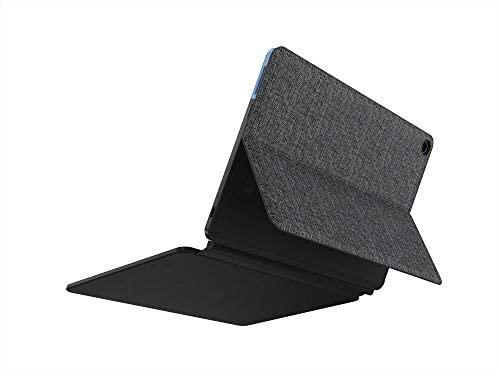 Lenovo Chromebook Duet 2-in-1 10.1 WUXGA (1920 x 1200) Show, MediaTek Helio P60T, 4GB LPDDR4X RAM, 64GB SSD, Built-in ARM G72 MP3 Graphics, Chrome OS, ZA6F0031US, Ice Blue+Iron Gray (Renewed) 2