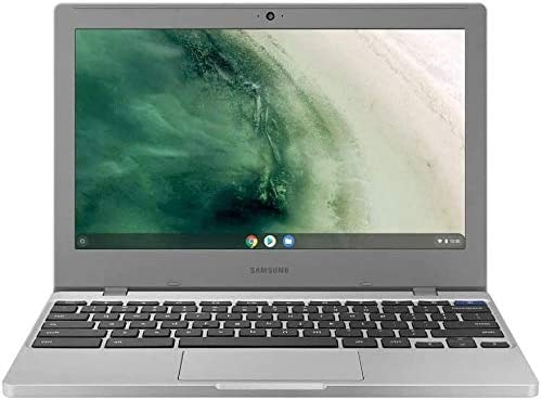 "Samsung Chromebook 4 11.6"" HD Laptop, Intel Celeron Processor N4000, 4GB RAM 32GB eMMC, Gigabit Wi-Fi,Bluetooth, Chrome OS, Platinum Titan, Bundled with TSBEAU 4-Port USB 3.0 Hub 2"