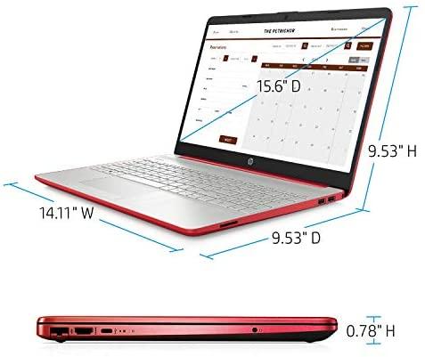 "2021 Newest 15.6"" HP Pavilion HD Laptop, Intel Dual-core Pentium Processor, Intel UHD Graphics, HD Webcam, Bluetooth, HDMI, USB Type-C, Scarlet Red, Windows 10 + Oydisen Cloth (8GB | 256GB SSD) 3"