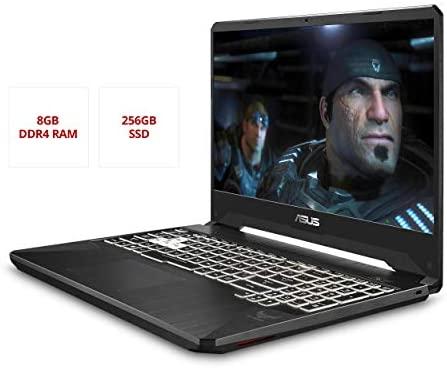 "ASUS TUF FX505DT Gaming Laptop- 15.6"", 120Hz Full HD, AMD Ryzen 5 R5-3550H Processor, GeForce GTX 1650 Graphics, 8GB DDR4, 256GB PCIe SSD, RGB Keyboard, Windows 10 64-bit - FX505DT-AH51 4"