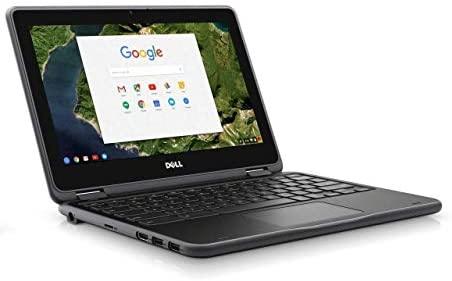 """Dell Chromebook 3189 Intel Celeron N3060 X2 2.48GHz 4GB 16GB 11.6"""" Touch,Black (Renewed) 4"""
