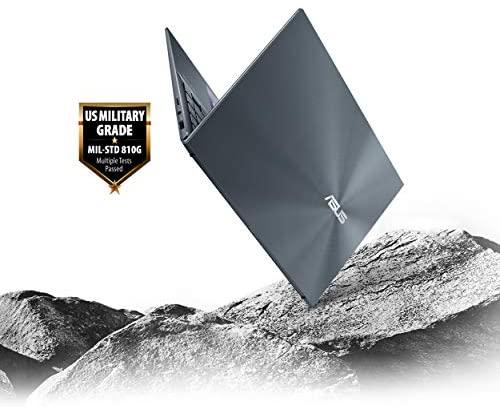 "ASUS ZenBook 14 Ultra-Slim Laptop 14"" FHD NanoEdge Bezel Display, Intel Core i7-1165G7, NVIDIA MX450, 16GB RAM, 512GB SSD, ScreenPad 2.0, Thunderbolt 4, Windows 10 Pro, Pine Grey, UX435EG-XH74 11"