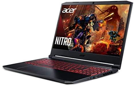 "Acer Nitro 5 Gaming Laptop, 10th Gen Intel Core i5-10300H,NVIDIA GeForce GTX 1650 Ti, 15.6"" Full HD IPS 144Hz Display, 8GB DDR4,256GB NVMe SSD,WiFi 6, DTS X Ultra,Backlit Keyboard,AN515-55-59KS 9"