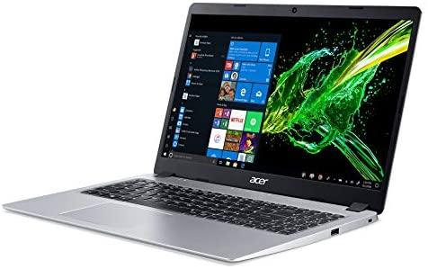 Acer Aspire 5 Slim Laptop, 15.6 inches Full HD IPS Display, AMD Ryzen 3 3200U, Vega 3 Graphics, 4GB DDR4, 128GB SSD, Backlit Keyboard, Windows 10 in S Mode, A515-43-R19L, Silver 7