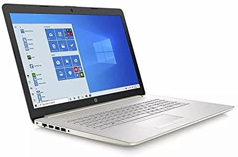 "2021 Flagship HP 17 Enterprise Laptop computer Pc 17.3"" HD+ Touchscreen tenth Gen Intel 4-Core i5-1035G1 (Beats i7-8665U) 8GB RAM 256GB SSD Intel UHD Graphics DVD-RW Win10 Gold + iCarp HDMI Cable 2"
