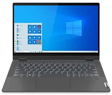 "Lenovo Flex 5 14 14.0"" Laptop, 14.0"" FHD (1920 x 1080) Touch Display, AMD Ryzen 5 5500U Processor, 16GB DDR4 RAM, 256GB NVMe SSD Storage, AMD Radeon Graphics, Windows 10H, 82HU0036US, Graphite Grey 3"