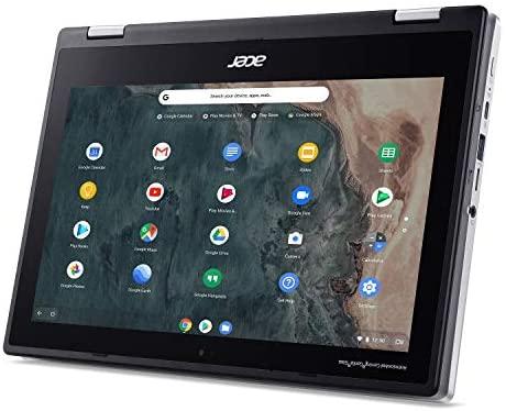 "Acer Chromebook Spin 311 Convertible Laptop, Intel Celeron N4020, 11.6"" HD Touch, 4GB LPDDR4, 32GB eMMC, Gigabit Wi-Fi 5, Bluetooth 5.0, Google Chrome, CP311-2H-C679 8"