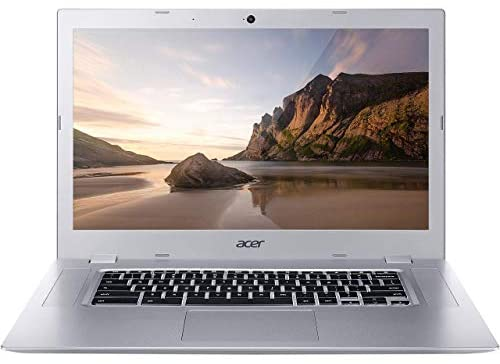 Acer Chromebook 315-2HT Touchscreen Laptop in Silver AMD A4 up to 2.5GHz 4GB RAM 32GB eMMC 15.6in Full HD Touch LCD Web Cam Chrome OS Gigabit WiFi (Renewed) 6