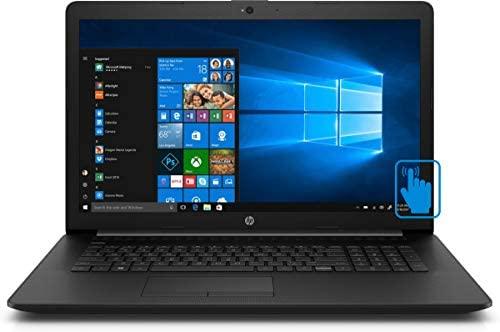 "HP 17-R5 Home and Business Laptop (AMD Ryzen 5 3500U 4-Core, 16GB RAM, 256GB PCIe SSD, AMD Vega 8, 17.3"" Touch HD+ (1600x900), WiFi, Bluetooth, Webcam, 2xUSB 3.1, 1xHDMI, Win 10 Home) with Hub 2"