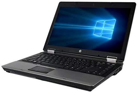 HP ProBook 6450b 14 Inch Business Laptop, Intel Core i5-520M 2.4GHz, 4G DDR3, 500G, DVD, WiFi, VGA, Display Port, Windows 10 Pro 64 Bit-Multi-Language Supports English/French/Spanish(Renewed) 3