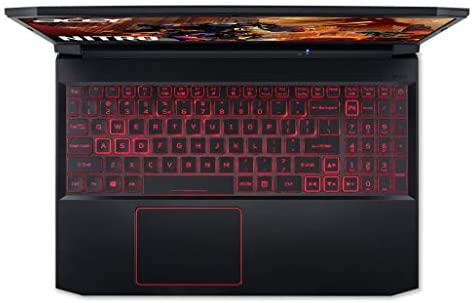 "Acer Nitro 5 Gaming Laptop, 10th Gen Intel Core i5-10300H,NVIDIA GeForce GTX 1650 Ti, 15.6"" Full HD IPS 144Hz Display, 8GB DDR4,256GB NVMe SSD,WiFi 6, DTS X Ultra,Backlit Keyboard,AN515-55-59KS 10"