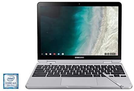 2021 Samsung Chromebook Plus V2 12.2 Inch FHD 1200P Touchscreen 2-in-1 Laptop, Intel Core m3-7Y30, 4GB RAM, 64GB eMMC, WiFi, Webcam, Chrome OS + NexiGo 32GB MicroSD Card Bundle, Pen Included 3