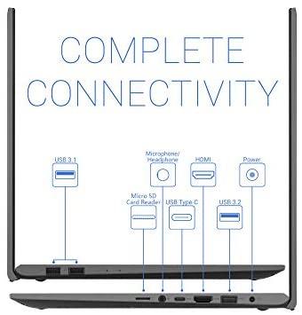 "2021 Flagship ASUS VivoBook 15 Thin and Light Laptop 15.6"" FHD Touchscreen Display 10th Gen Intel Core i3-1005G1 (Beat i5-8250U) 12GB RAM 256GB SSD Backlit Fingerprint Webcam Win 10 + iCarp HDMI Cable 4"