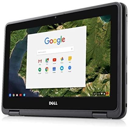 """Dell Chromebook 3189 Intel Celeron N3060 X2 2.48GHz 4GB 16GB 11.6"""" Touch,Black (Renewed) 2"""