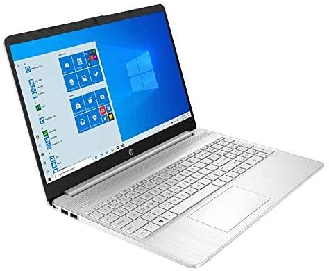 "2021 HP Pavilion 15.6"" FHD Touchscreen Laptop Computer, Intel 10th Gen Core i5-1035G1 CPU, 12GB RAM, 256GB PCIe SSD, Audio, HD Camera, HDMI, USB-C, Intel UHD Graphics, Win 10S, Silver, 32GB USB Card 3"