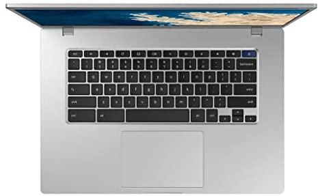 """SAMSUNG XE350XBA-K01US Chromebook 4 + Chrome OS 15.6"""" Full HD Intel Celeron Processor N4000 4GB RAM 32GbEmmc Gigabit Wi-Fi, Silver 2"""