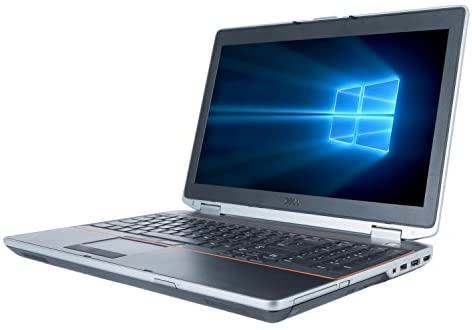 Dell Latitude E6520 15.6 Inch Business Laptop, Intel Core i5-2410M up to 2.9GHz, 8G DDR3, 500G, DVD, WIFI, Bluetooth, VGA, HDMI, Win10 Pro 64 Bit Multi-Language Support English/French/Spanish(Renewed) 3