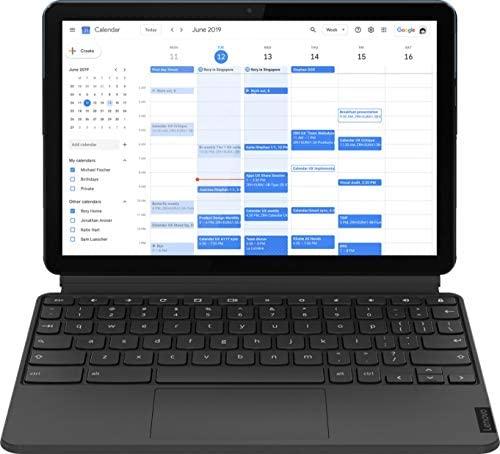 2021 Lenovo Chromebook Duet 10.1 Inch FHD 1200P Touchscreen 2-in-1 Laptop computer, 8-Core MediaTek Helio P60T, 4GB RAM, 128GB eMMC, Chrome OS + NexiGo 32GB MicroSD Card Bundle 6