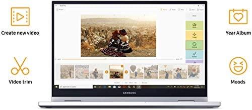 "2020 Samsung Galaxy Book Flex Alpha 13.3"" QLED FHD 1080p Multi-Touch 2-in-1 Business Laptop (Intel Quad-Core i5-10210U, 8GB RAM, 1TB SSD) Backlit, Wi-Fi 6, Windows 10 Home + IST Computers HDMI Cable 5"