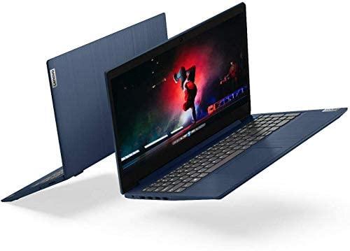 """Lenovo IdeaPad 3 15.6"""" FHD Anti-Glare LED Backlit Laptop, AMD 6-Core Ryzen 5 4500U up to 4.0GHz, 8GB DDR4, 1TB HDD, Webcam, 802.11ac, Bluetooth, HDMI, USB Type-C, Dolby Audio, Windows 10, Abyss Blue 5"""