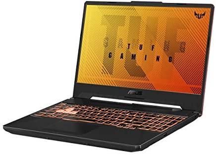 "ASUS TUF Gaming A15 Gaming Laptop, 15.6"" 144Hz Full HD IPS-Type Display, AMD Ryzen 5 4600H, GeForce GTX 1650 Ti, 8GB DDR4, 512GB PCIe SSD, RGB Keyboard, Windows 10 Home, Bonfire Black, FA506II-AS53 5"