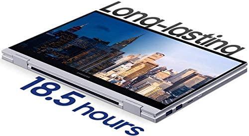 "2020 Samsung Galaxy Book Flex Alpha 13.3"" QLED FHD 1080p Multi-Touch 2-in-1 Business Laptop (Intel Quad-Core i5-10210U, 8GB RAM, 1TB SSD) Backlit, Wi-Fi 6, Windows 10 Home + IST Computers HDMI Cable 4"
