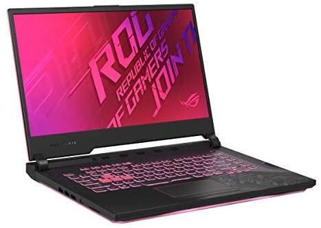 "2021 ASUS ROG Strix G15 15 Premium Gaming Laptop computer I 15.6"" FHD 144Hz I Intel Hexa-Core i7-10750H I 8GB DDR4 512GB SSD I GTX 1650 Ti 4GB RGB Backlit WiFi USB-C Win 10 + Delca 32GB Micro SD Card 4"