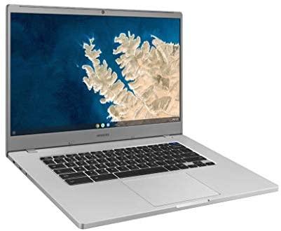 """SAMSUNG XE350XBA-K01US Chromebook 4 + Chrome OS 15.6"""" Full HD Intel Celeron Processor N4000 4GB RAM 32GbEmmc Gigabit Wi-Fi, Silver 3"""