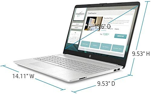 "2021 Latest HP 15.6"" FHD IPS Touchscreen Laptop computer, tenth Gen Intel i7-1065G7(As much as 3.9GHz), 16GB RAM, 512GB PCIe SSD, Intel Iris Plus Graphics, Webcam, USB-A&C, HDMI, WiFi, Win10, w/GM Equipment 5"