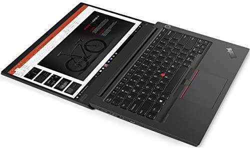"Lenovo ThinkPad E14 20RA004WUS 14"" Notebook - 1920 x 1080 - Intel Core i5 (10th Gen) i5-10210U Quad-core (4 Core) 1.60 GHz - 8 GB RAM - 1 TB HDD - Black 2"