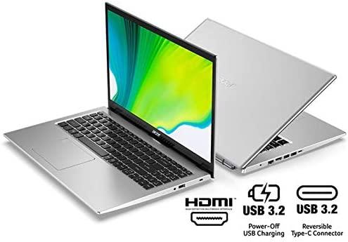 "Acer Aspire 5 A515-56-363A, 15.6"" Full HD IPS Display, 11th Gen Intel Core i3-1115G4 Processor, 4GB DDR4, 128GB NVMe SSD, WiFi 6, Backlit Keyboard, Windows 10 Home (S Mode) 5"