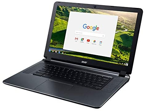 """2018 Acer CB3-532 15.6"""" HD Chromebook with 3x Faster WiFi, Intel Dual-Core Celeron N3060 up to 2.48GHz, 2GB RAM, 16GB SSD, HDMI, USB 3.0, Webcam, 12-Hours Battery, Chrome OS 2"""