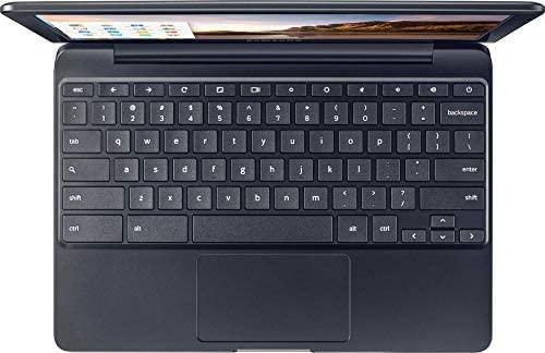 "Samsung Newest Chromebook 3 11.6"" HD Flagship High Performance Ultrabook Laptop PC, Intel Core Celeron N3060 Dual-Core, 4GB RAM, 32GB eMMC, Bluetooth, Stereo Speakers, Chrome OS (Black) (Renewed) 5"