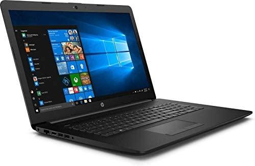 "2020 HP 17.3"" HD+ Premium Laptop Computer, AMD Ryzen 5 3500U Quad-Core Up to 3.7GHz, 12GB DDR4 RAM, 256GB SSD, DVDRW, AMD Radeon Vega 8, 802.11ac WiFi, Bluetooth 4.2, USB 3.1, HDMI, Black, Windows 10 2"