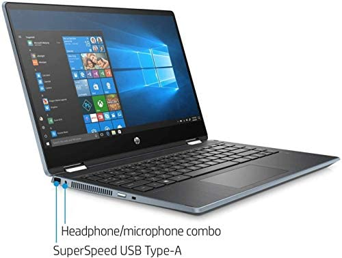 "2021 HP Pavilion x360 2in1 14"" FHD IPS Touchscreen Laptop, Intel Quad-Core i5-1035G1(Beat i7-8550U), 8GB RAM, 512GB PCIe SSD, Webcam, WiFi, HDMI, USB-A&C, Audio by B&O, Fast Charge, w/GM Accessories 5"