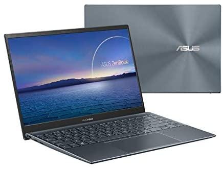 "Newest Asus Zenbook 14"" IPS FHD NanoEdge Bezel Display Ultra-Slim Laptop, 4th Gen AMD Ryzen 7 4700U 8-Core, 16GB RAM, 1TB PCIe SSD, Backlit Keyboard, NumberPad, Windows 10 Pro, Pine Gray 2"