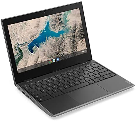 "Lenovo 100E Chromebook 2ND Gen Laptop, 11.6"" HD (1366 X 768) Display, MediaTek MT8173C Processor, 4GB LPDDR3 RAM, 16GB eMMC TLC SSD, Powervr GX6250, Chrome OS, 81QB000AUS, Black 2"