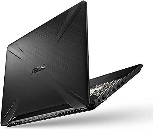 """Asus TUF Gaming Laptop, 15.6"""" IPS Full HD, AMD Quad-Core Ryzen 7 3750H, Nvidia GeForce GTX 1650, RGB Backlit Keyboard, Webcam, BT, Windows 10 + CUE Accessories (8GB DDR4, 256GB SSD) 7"""