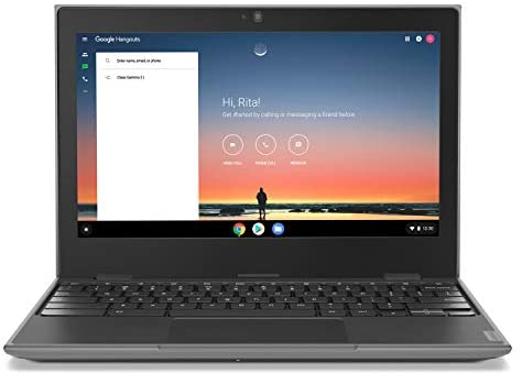"Lenovo 100E Chromebook 2ND Gen Laptop, 11.6"" HD (1366 X 768) Display, MediaTek MT8173C Processor, 4GB LPDDR3 RAM, 16GB eMMC TLC SSD, Powervr GX6250, Chrome OS, 81QB000AUS, Black 6"