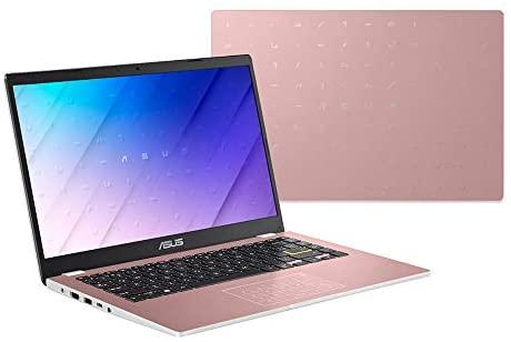"2021 ASUS 14"" HD Display Laptop Computer, Intel Celeron N4020 Processor, 4GB DDR4 RAM, 128GB eMMC, Stereo Speakers, Intel UHD Graphics, USB-C, HDMI, Windows 10 Home, Pink, 32GB SnowBell USB Card 7"