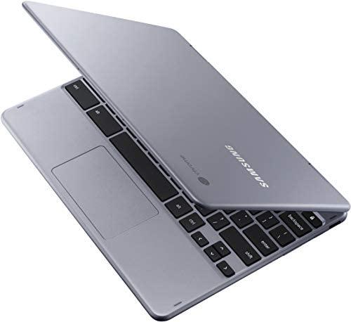 "Samsung Chromebook Plus (WiFi + LTE Verizon) Chrome OS 12.2"" HD Touchscreen Intel Celeron 3965Y 4GB RAM 32GB eMMC - XE525QBB-K01US (Stealth Silver) 4"