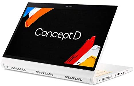 "Acer ConceptD 3 Ezel CC314-72G-72SX Convertible Creator Laptop, Intel i7-10750H, GeForce GTX 1650 Max-Q, 14"" FHD, Gorilla Glass, Pantone Validated, 100% sRGB, 16GB, 512GB NVMe SSD, Wacom AES 1.0 Pen 14"