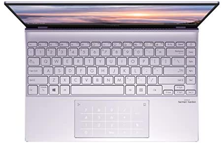 "ASUS ZenBook 13 Ultra-Slim Laptop 13.3"" Full HD NanoEdge Bezel Display, Intel Core i5-1035G1 Processor, 8GB RAM, 256GB PCIe SSD, NumberPad, Windows 10 Home, Lilac Mist, UX325JA-AB51 4"