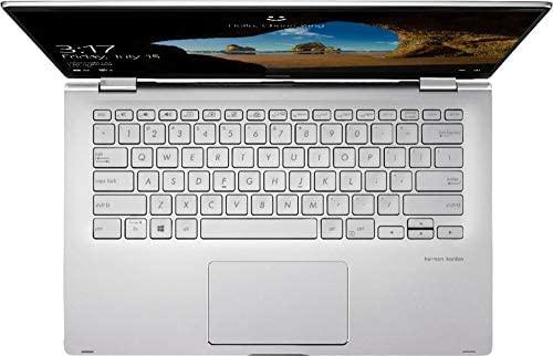"ASUS 14 2-in-1 14"" FHD Touchscreen Laptop Computer_ AMD Ryzen 5 3500U Quad-Core Up to 3.7GHz (Beats I7-7500U)_ 8GB DDR4 RAM, 256GB SSD_ Online Class Ready_ Windows 10_ BROAGE 64GB Flash Stylus 6"