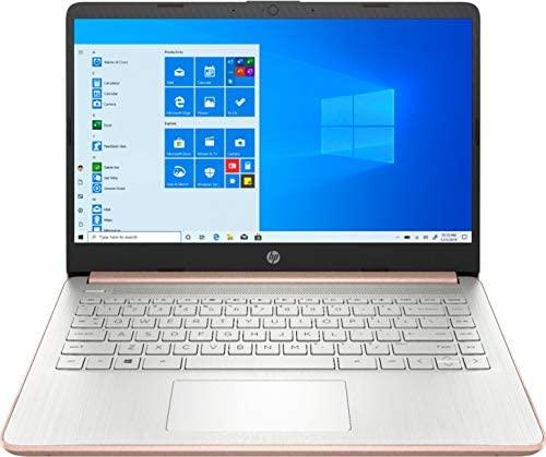 "2021 HP Laptop computer 14 Premium Pc I 14"" Diagonal HD Show I Intel Celeron N4020 I 4GB DDR4 64GB eMMC + 128GB SD Card I Intel UHD Graphics 600 I USB-C HDMI Wifi5 Win10 + Delca 32GB MicroSD Card 2"