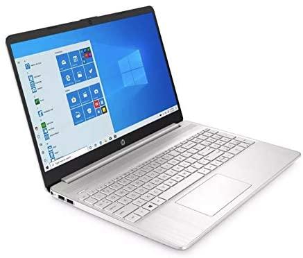 HP Premium 15-Inch HD 256GB SSD 2.4GHz AMD Athlon Gold Processor Non Touch Laptop (4GB RAM, AMD Radeon Graphics, Webcam, USB-C, HDMI, SD Card Reader, Windows 10 Home S) Natural Silver, 15-ef1040nr 4