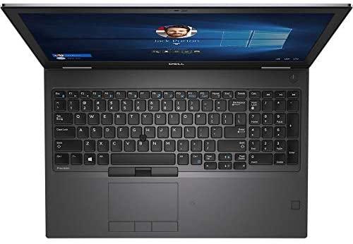 "Dell Precision 7540 15.6"" IPS FHD (1920x1080) Mobile Workstation Business Laptop (Intel 6-Core i7-9850H, Quadro T2000, 32GB DDR4, 1TB SSD) Thunderbolt 3, Mini-DP, RJ-45, Windows 10 Pro 4"