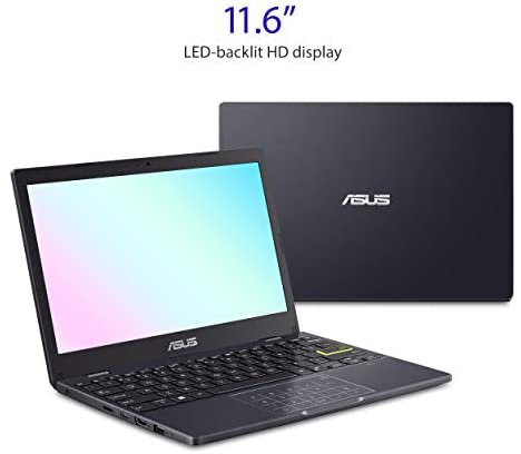 """ASUS Laptop L210 Ultra Thin Laptop, 11.6"""" HD Display, Intel Celeron N4020 Processor, 4GB RAM, 64GB Storage, NumberPad, Windows 10 Home in S Mode with One Year of Microsoft 365 Personal, L210MA-DB01 2"""