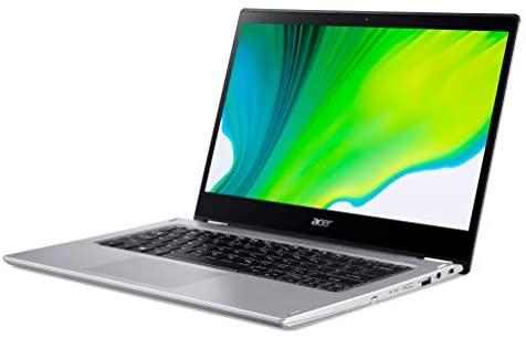 Acer Spin 3 2-in-1 14.0-inch FHD Touchscreen Premium Laptop PC, Intel Quad-Core i7-1065G7, Intel Iris Plus Graphics, 8GB DDR4 RAM, 512GB SSD, Backlit Keyboard, Windows 10 Home 64 bit, Silver 3
